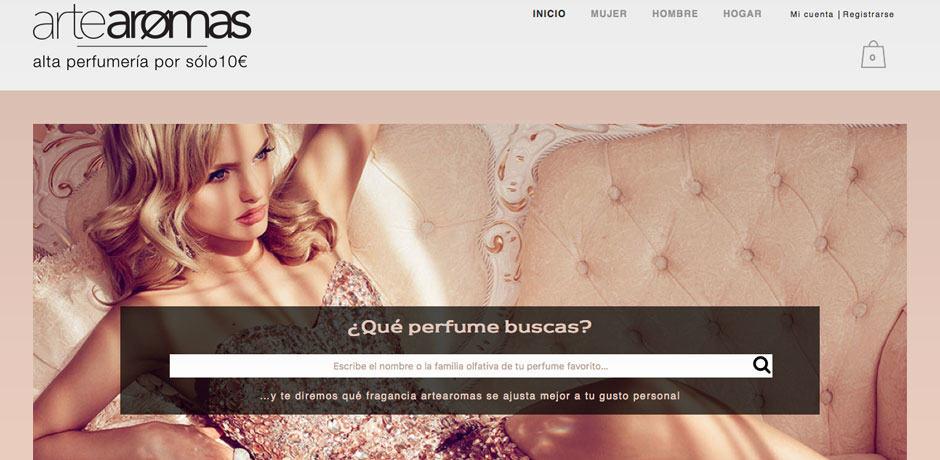 comercio online de perfumes Woocommerce Malaga