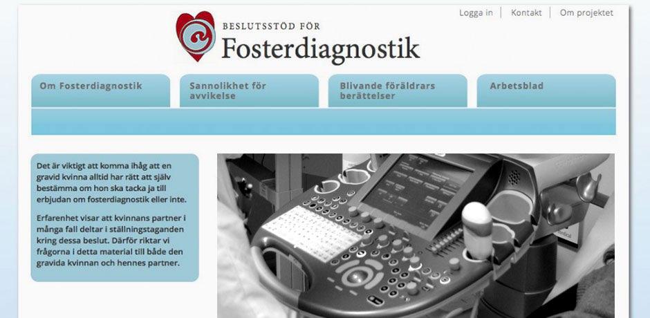 user registration and programming Sweden
