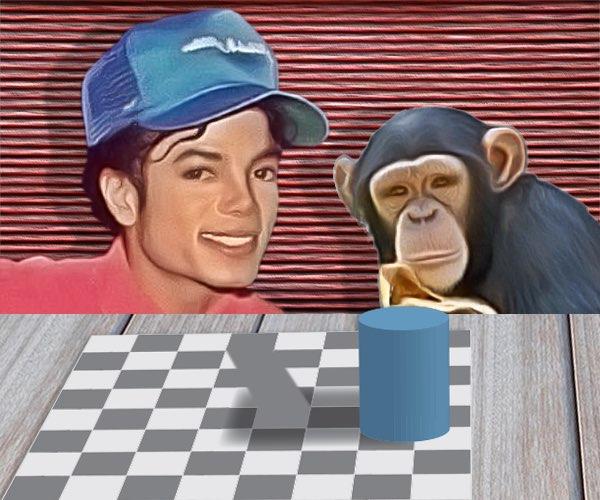 Michael y su mono