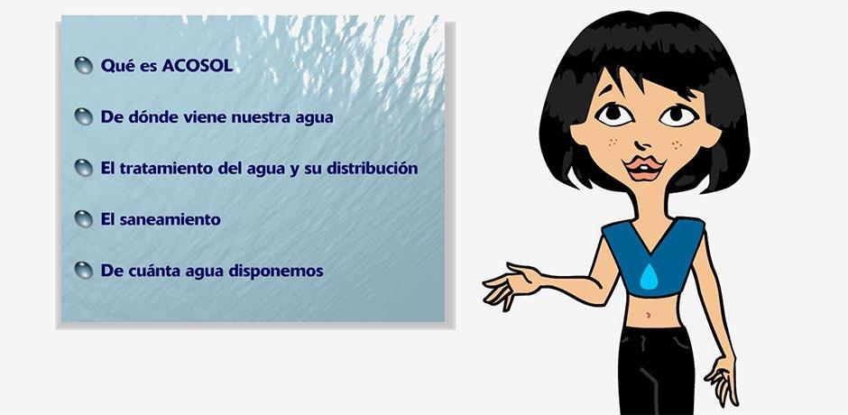 Presentación interactiva museo Malaga