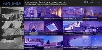 web and landing page Malaga
