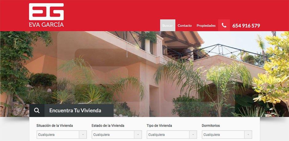 web inmobiliario Malaga
