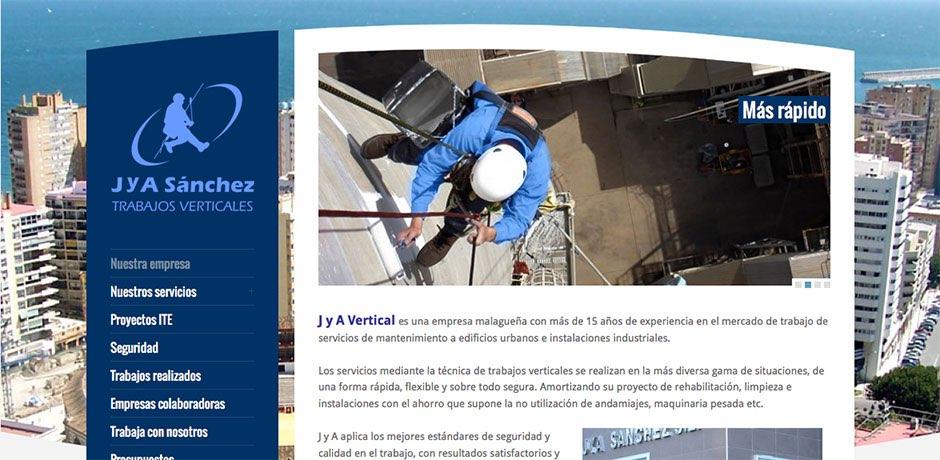 servicios formularios galerías en WP Malaga