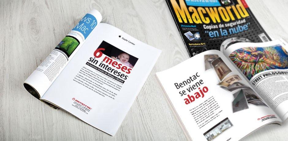 magazine advertising in Spain