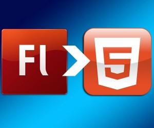 Convierte Flash a HTML5