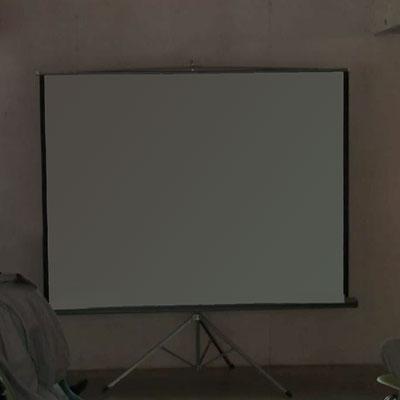 pantalla blanca