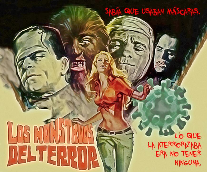 Los Monstruos Del Terror Develooping In English