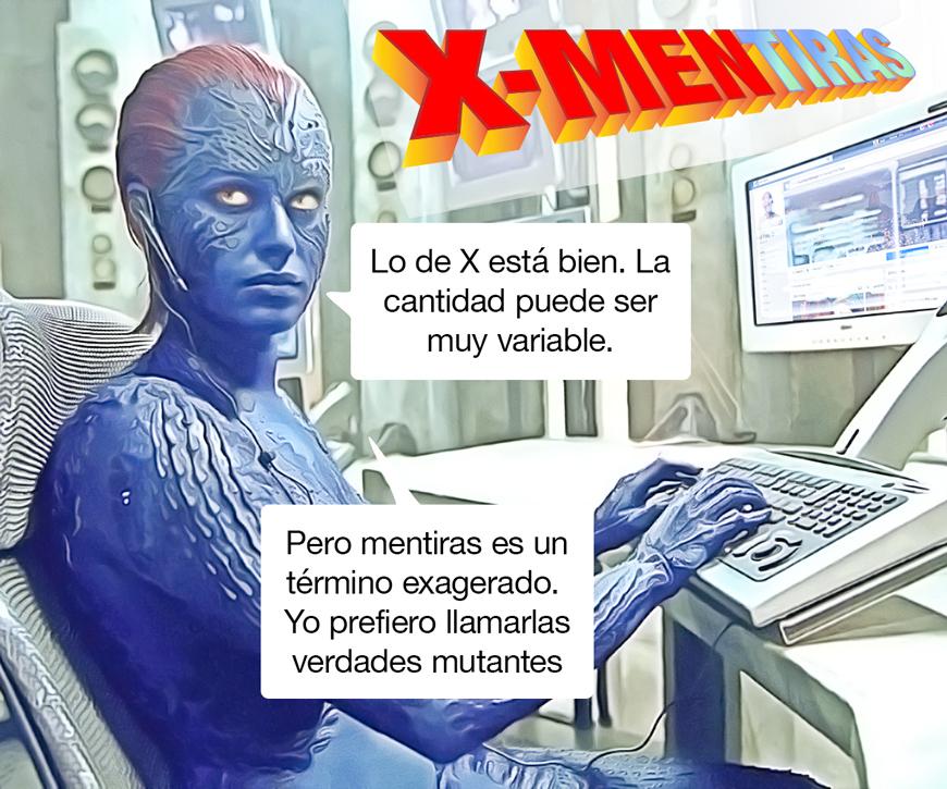 X-Mentiras