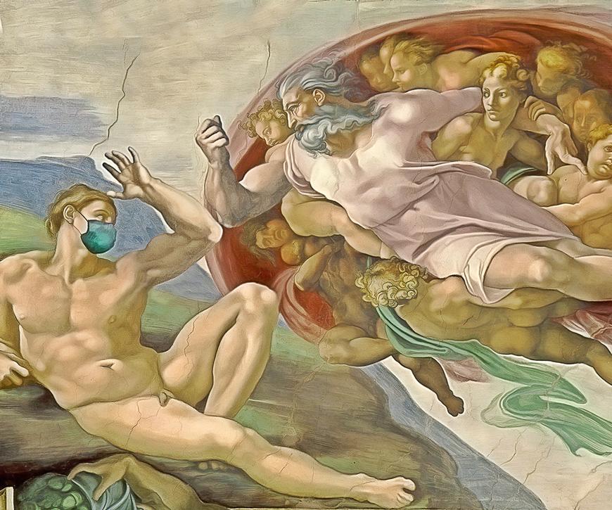la recreación de Adán