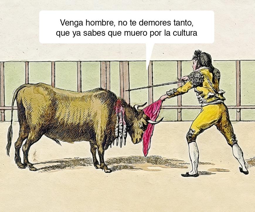 Morir por la cultura