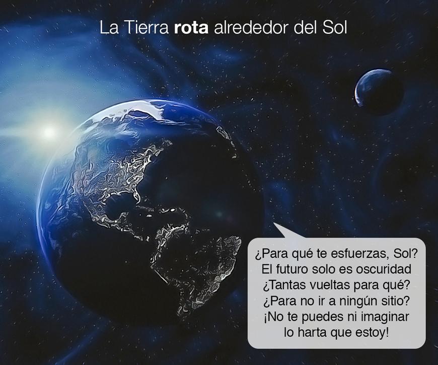 La Tierra rota