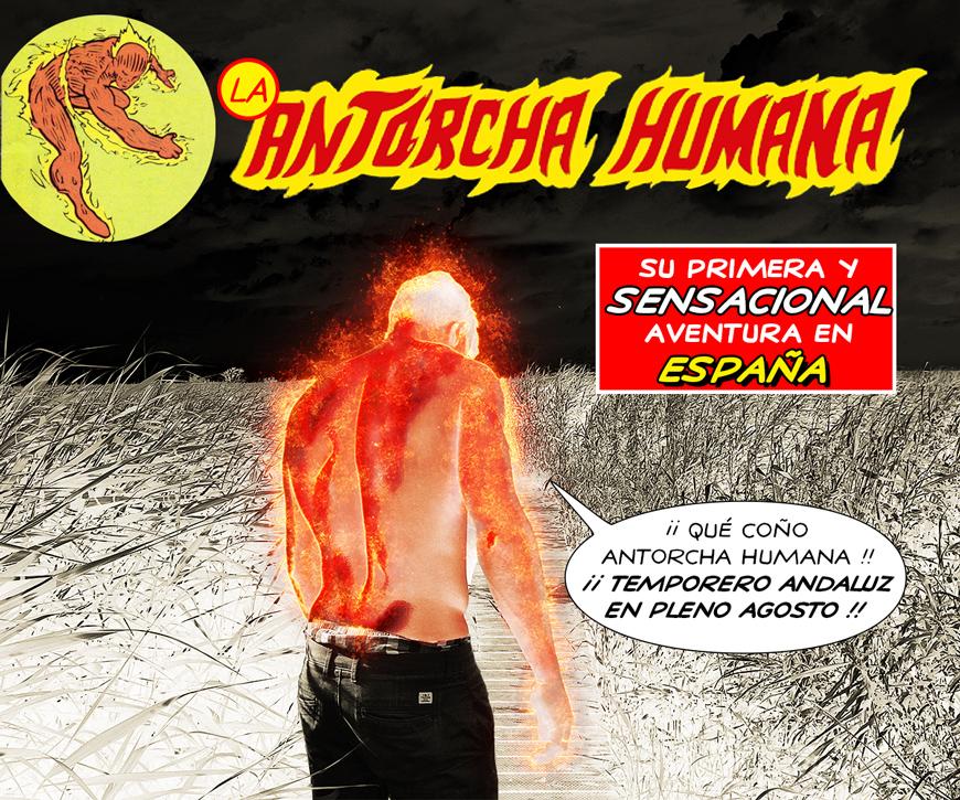 la antorcha humana