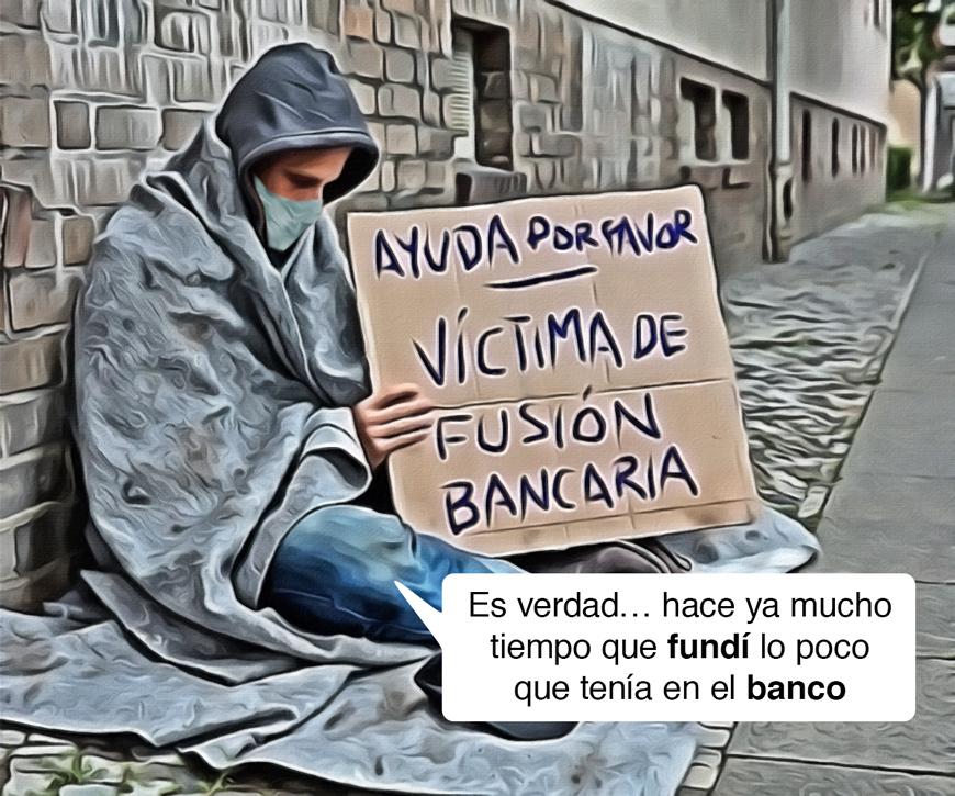 fusión bancaria