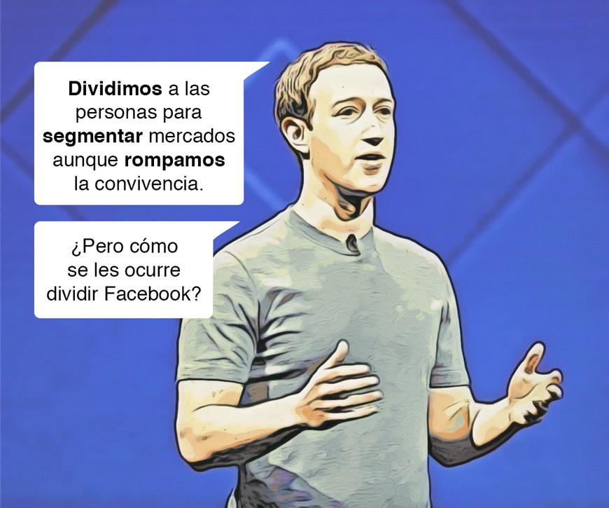 Dividir Facebook