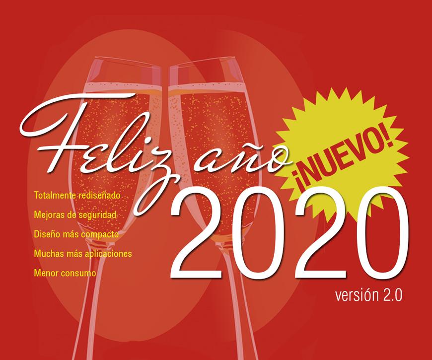 Feliz 2020 versión 2.0
