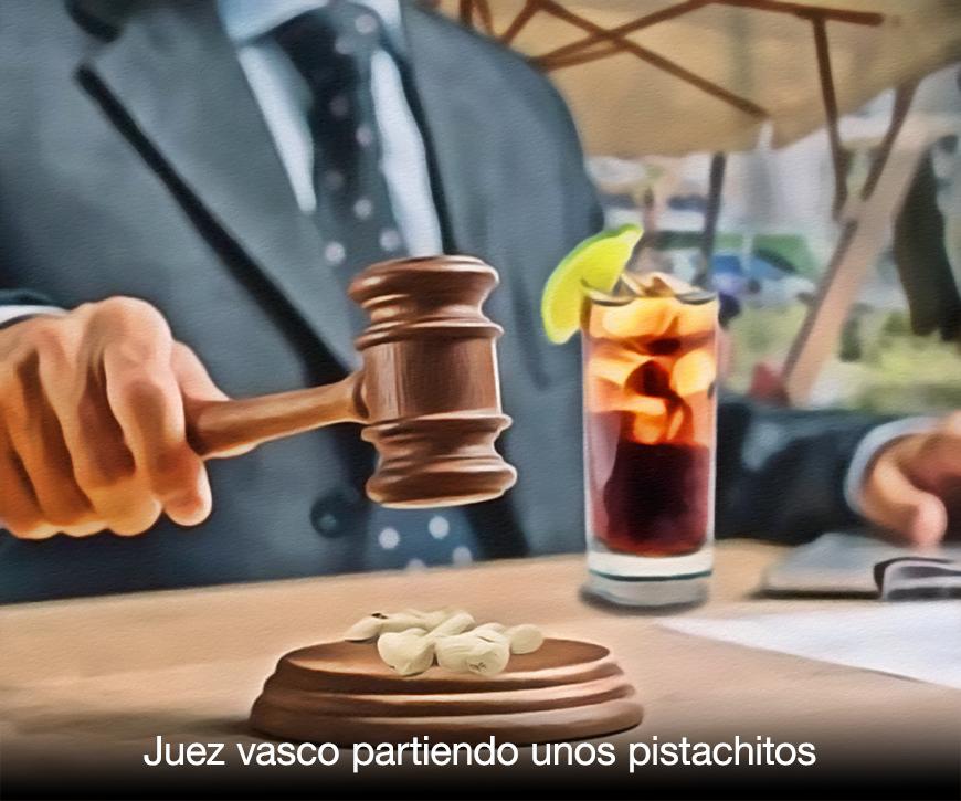 juez vasco partiendo pistachos